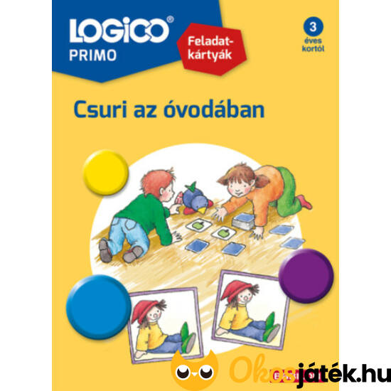 LOGICO Primo feladatlapok - Csuri az óvodában 3235
