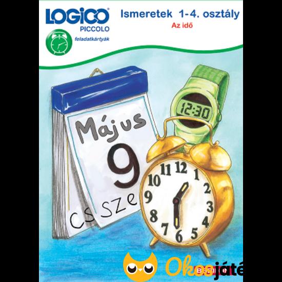 LOGICO Piccolo 3463 Ismeretek 1-4. osztály Az idő (TF)