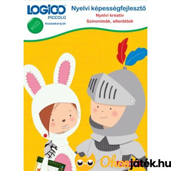 LOGICO Piccolo 5421 Nyelvi képességfejlesztő Szinonímák,ellentétek (TF)