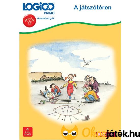 Logico Primo feladatlapok - A játszótéren 3212 3+
