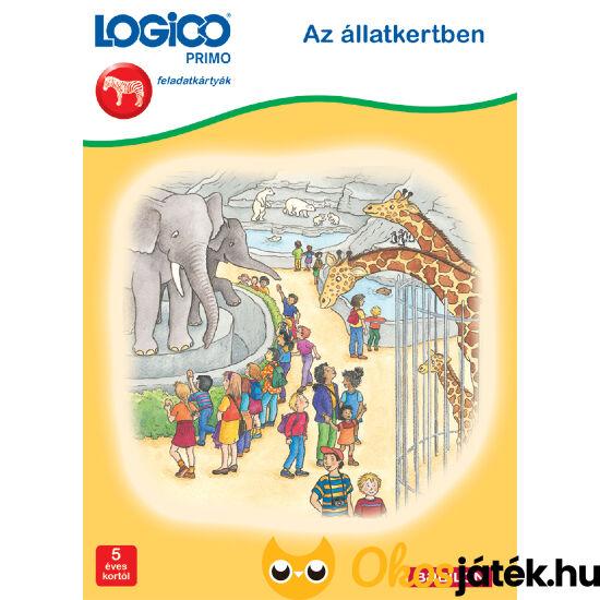 Logico Primo feladatlapok - Az állatkertben 3217 5+