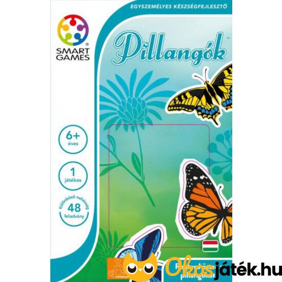 Pillangós tologatós puzzle logikai játék Butterflies - Smart Games kirakó - GA