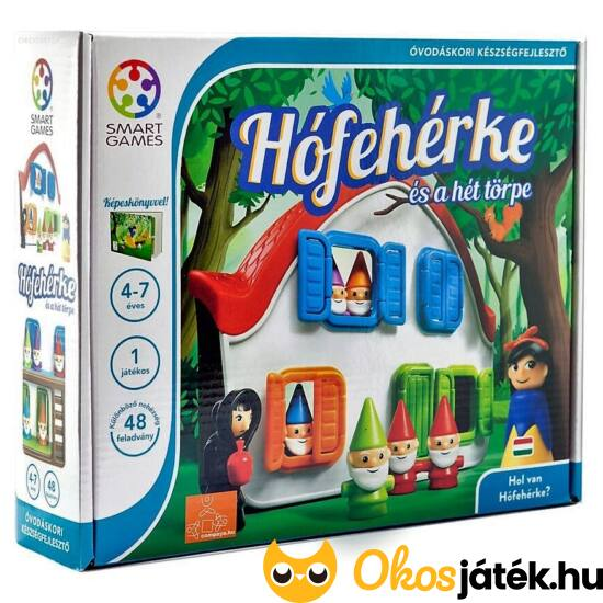 Hófehérke és a hét törpe logikai játék gyerekeknek - Smart Games - GA