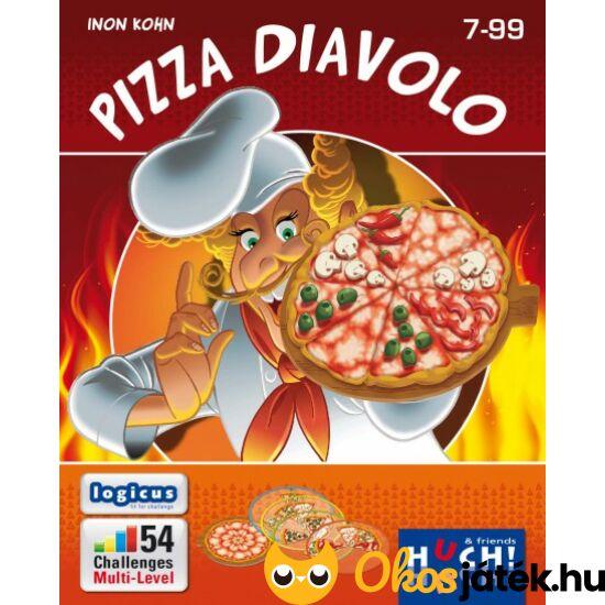 """Pizza Diavolo logikai játék átlátszó lapokkal (GE) """"Utolsó darabok"""""""