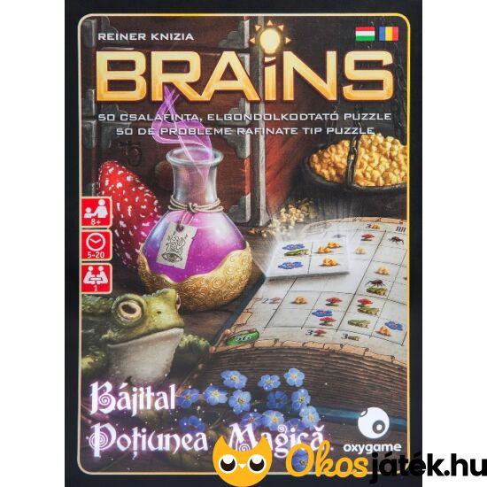 Brains bájital - egyszemélyes fejtörő játék (GA)