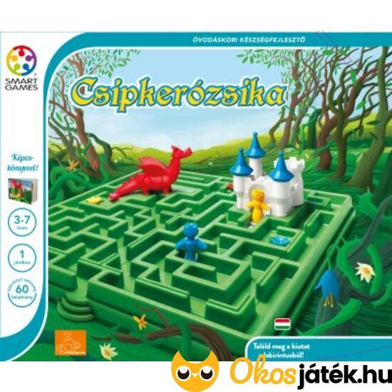 Csipkerózsika labirintusos logikai játék gyerekeknek Smart Games (GA)