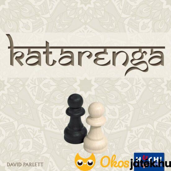 Katarenga gondolkodtató társasjáték a sakk lépéseivel (GE)