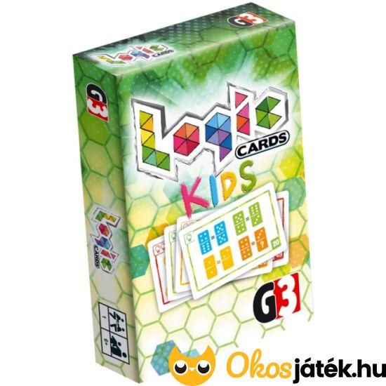 BG Logic Cards Kids - Logikai feladatok gyerekeknek - YO
