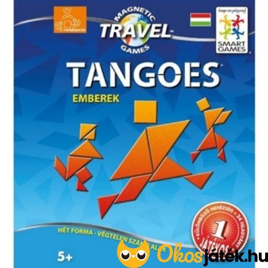 """Mágneses tangram játék utazáshoz (emberek) - Smart Games tangoes people (GA) """"Utolsó darabok"""""""