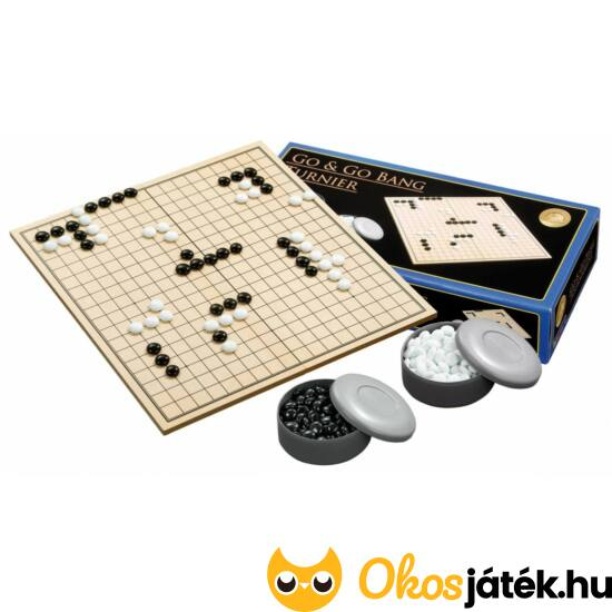 Go játék - Philos verseny készlet műanyag tárolókkal - PG 3210