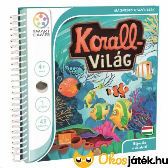 korallvilág smart games mágneses logikai játék