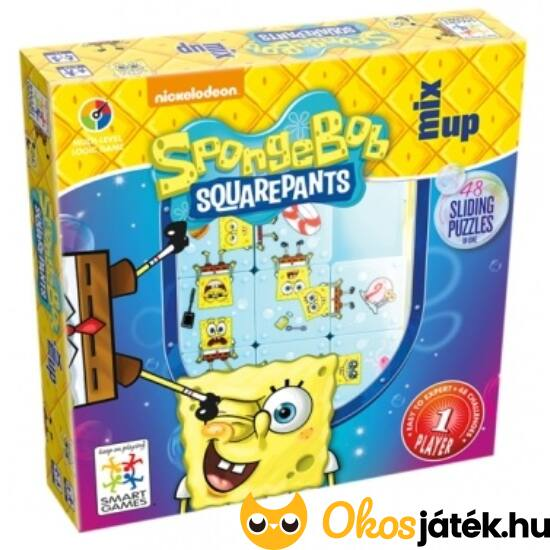 Spongyabob kockanadrág logikai játék - Smart Games - GA  NFT
