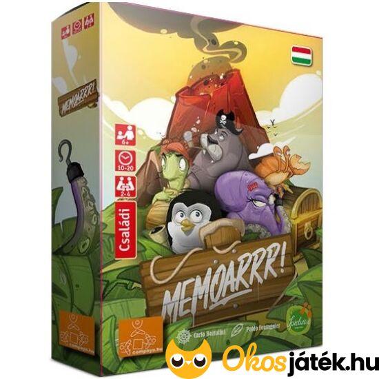 Memoarrr! memória társasjáték (GA)
