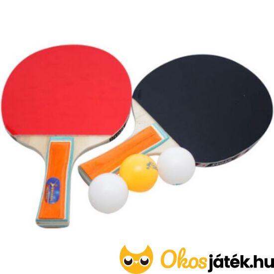 Ping pong szett 2db-os ping-pong ütő készlet labdával (JS)