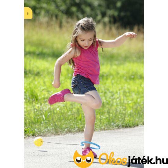 Hipi hopi, similabda szerű ugráló játék gyerekeknek Kék-sárga (BLS)