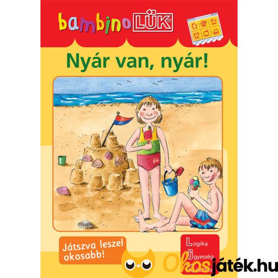 Nyár van, nyár! LÜK Bambino foglalkoztató füzet óvodásoknak LDI-134