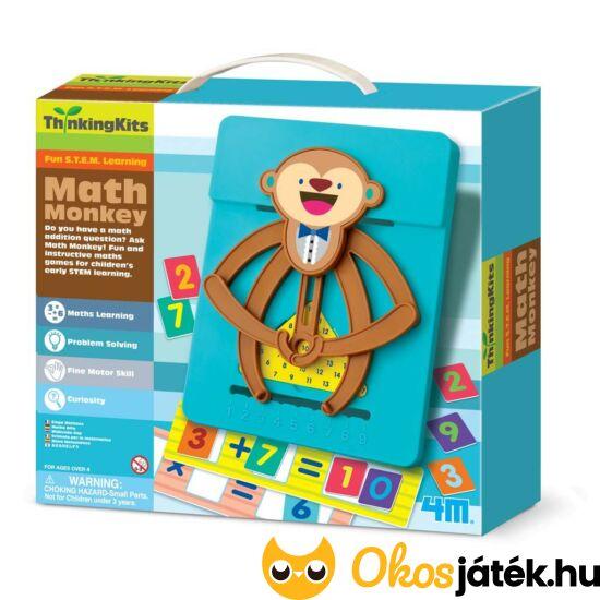 4M Matek majom - összeadás és szorzás (RE)