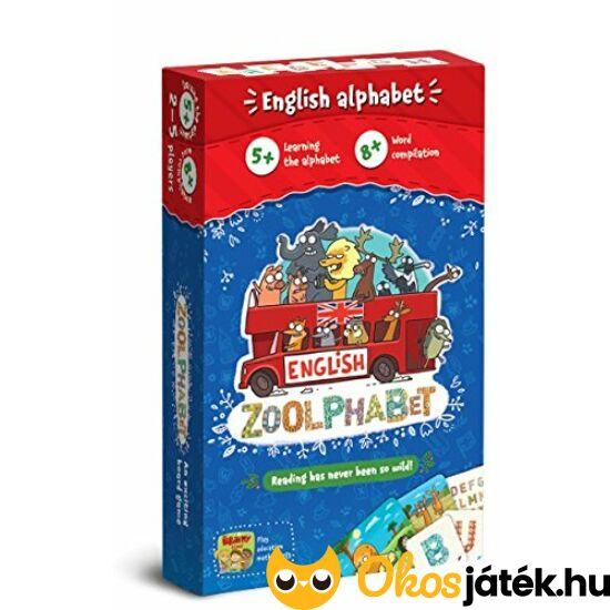 Zoolphabet - kártyajáték angol tanuláshoz (CU)