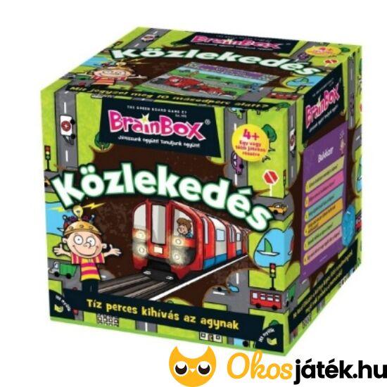 Brainbox közlekedés - memória és kvíz társasjáték - KE 936585