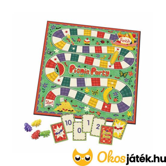"""Piknik parti - számok 10-ig, kivonás játékosan társasjáték - Learning Resources 3481 (LR) """"Utolsó darabok"""""""