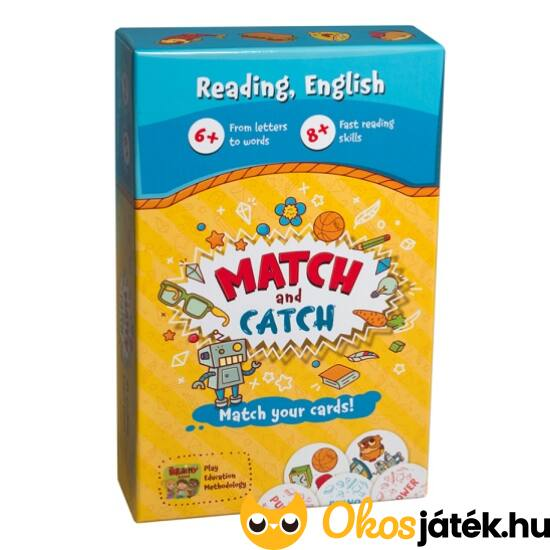 Match and Catch gyorsasági játék angol tanuláshoz (CU)