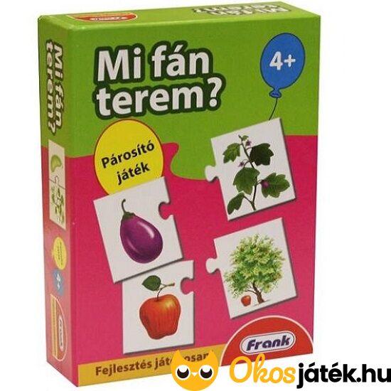 Mi fán terem? - Gyümölcsök és fák párosító játék - FRANK- HO 26119