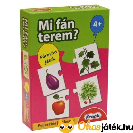 Mi fán terem? - Gyümölcsök és fák párosító játék FRANK 26119 (HO)