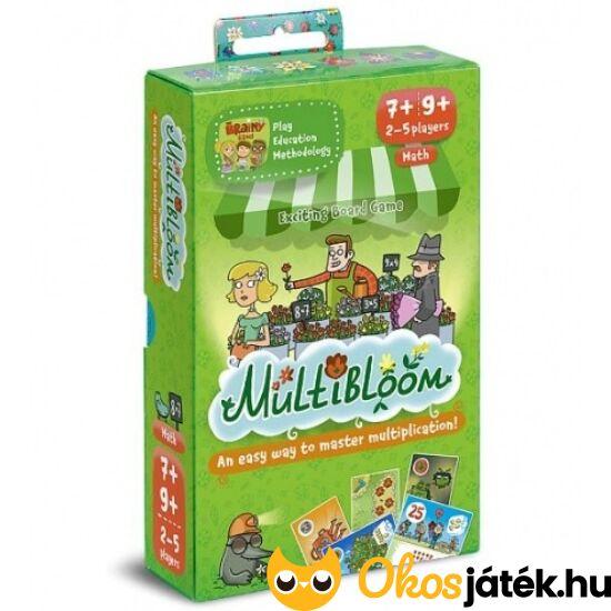 """Multibloom - """" Szorzótábla kertészet """"  kártyajáték - Brainy Band (CU)"""