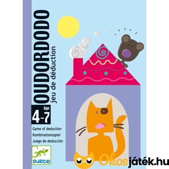 "Oudordodo ""találd ki"" kártyajáték - Djeco 5106 (BO) ""Utolsó darabok"""