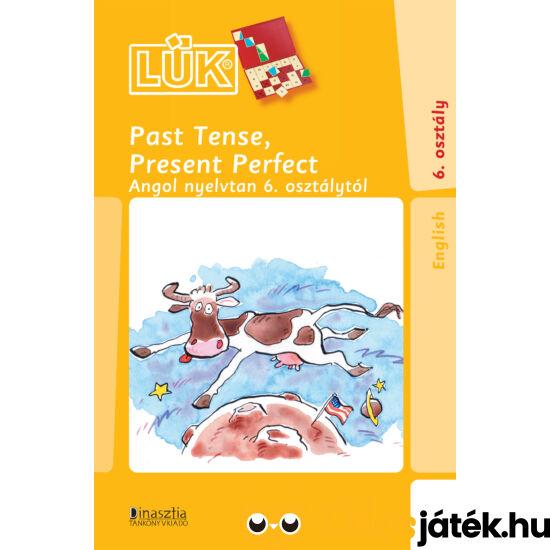 Past tense, present perfect angol nyelvi gyakorló lük füzet 24-es táblához (DI) LDI-322