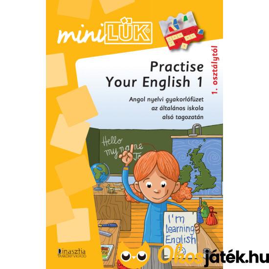 Practise your english 1 - angol nyelvi gyakorló mini lük füzet LDI311 (DI)
