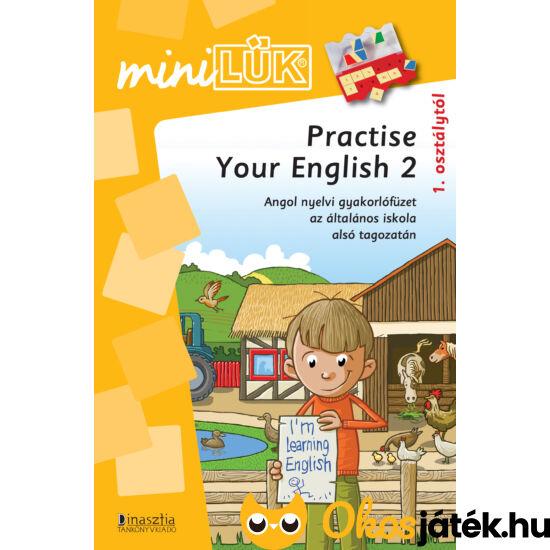 Practise your english 2 - angol nyelvi gyakorló mini lük füzet LDI312 (DI)