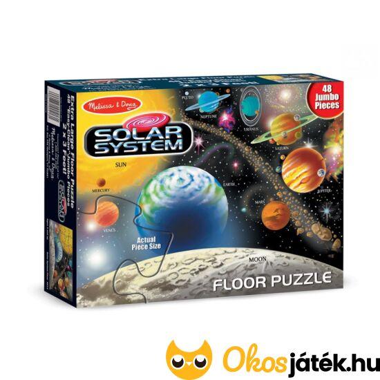 Bolygók padló puzzle 48 darabos - Melissa & Doug Naprendszer puzzle 10413 (ME-43+T)