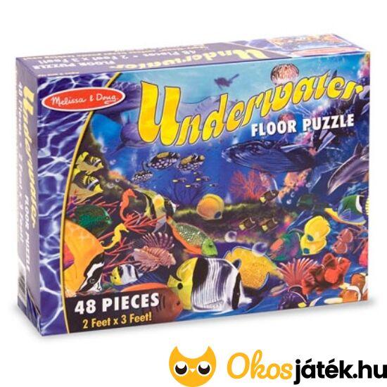 Tengeres, halas puzzle. 48 darabos - Melissa 10427 (ME)