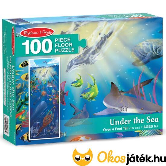 """Tenger világa, 100 darabos óriás kirakó puzzle ME 10443 (ME-R3) """"Utolsó darabok"""""""