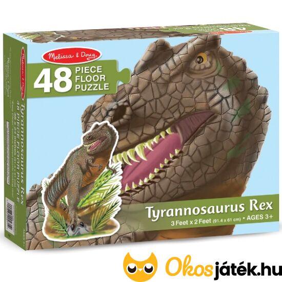 """T-Rex padló puzzle 48db-os - Melissa 10431 (ME-45) """"Utolsó darabok"""""""