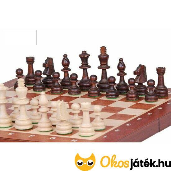 Nagy sakk készlet fából