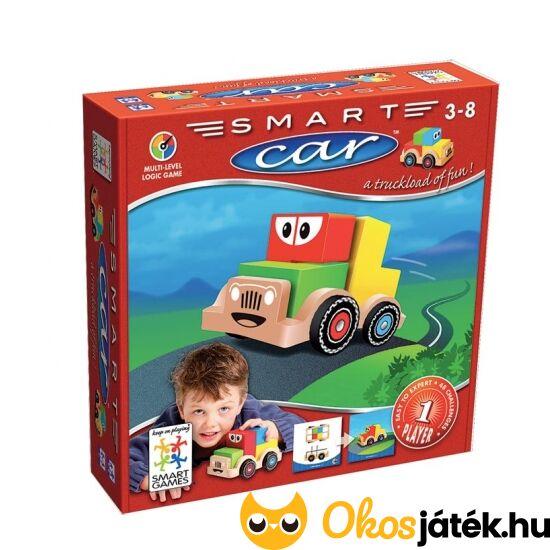 Smart Car, fa autós logikai játék - fiús gyerekjáték Smart Games (GA)