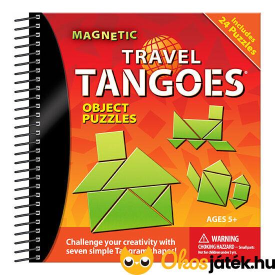 Mágneses tangram utazó logikai játék tárgyak object Smart Games (GA)