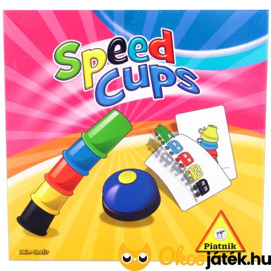 Speed cups - gyorspoharak: poharas ügyességi játék - Piatnik (PI)