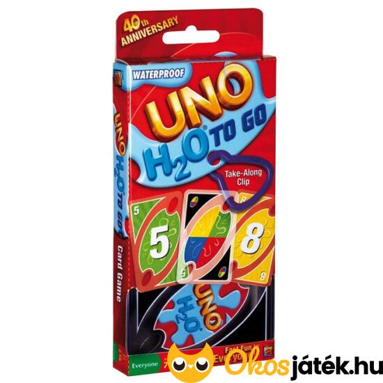 UNO H2O - vízálló UNO kártya (MH)