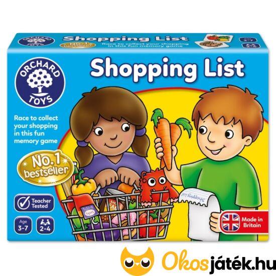 Bevásárlólista Shopping list Orchard Toys - Bevásárlós játék - KA