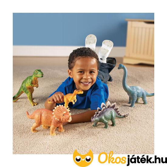 Dinoszauruszok - műanyag játék készlet LER0786 (LR)