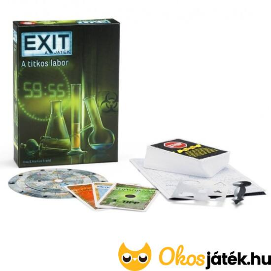 EXIT 2 - Titkos labor - kijutós játék otthon - PI