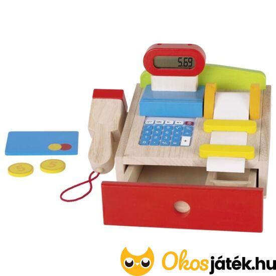 """Fa játék pénztárgép Goki 51575 (GO) """"utolsó darabok"""""""