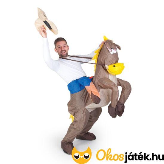 Lovagló jelmez - felfújható lovas jelmez tiniknek, felnőtteknek (FU)