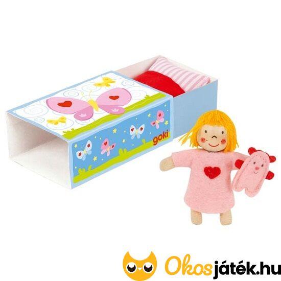 mini gyufásskatulya baba pici játék baba szerepjátékhoz utazáshoz