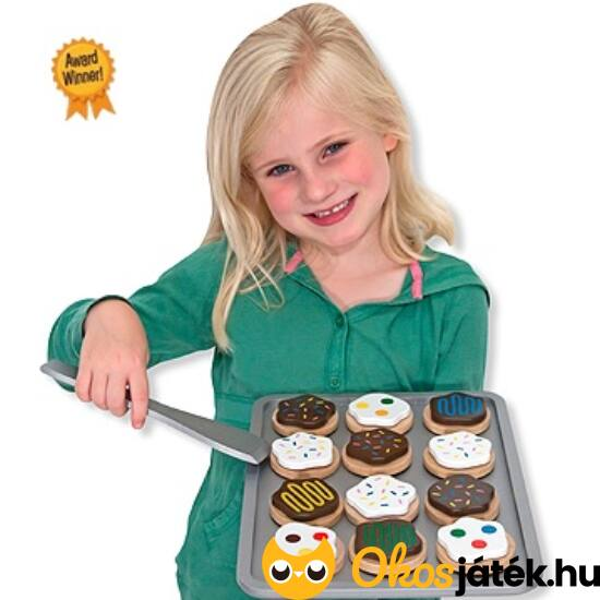Süti sütős fajáték gyerekeknek Melissa Doug 14074 (ME-63)