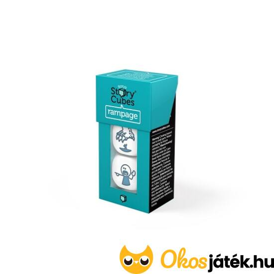 """Sztorikocka kiegészítő - Sötét zöld """"Rampage"""", """"őrjöngés"""" - GE NFT"""