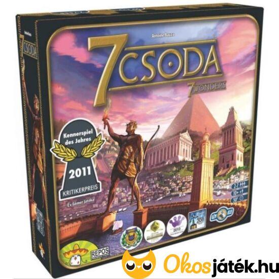 7 csoda - 7 Wonders - társasjáték - GE